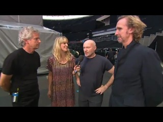 Genesis - Live Earth backstage interview